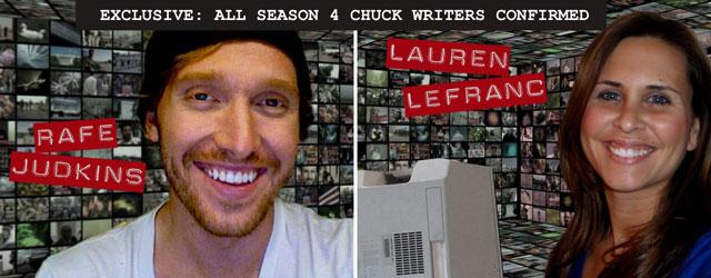 Chuck Season 4 Writers
