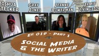 To tackle the immense, cutting edge topic of social networking for the writer, we needed to call in a panel of experts… in a round table discussion set in a...