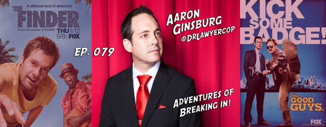 Think there's only one way to break in? You won't after watching this interview with Aaron Ginsburg! He could win a prize for the most outrageous way of breaking in....