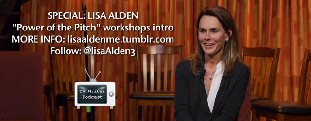 "Informative introduction to Lisa Alden's ""Power of the Pitch"" workshops – learn how to pitch your original TV pilot from somebody who has sold every one in the room! Even..."